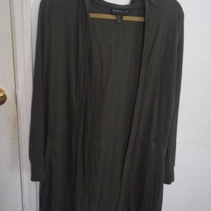 Forever 21 Plus Size Long Cardigan